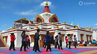 Буддистские монахини обучают девочек кунг-фу