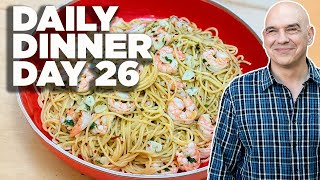 Cook Along With Michael Symon   Shrimp Scampi With Pasta   Daily Dinner Day 26