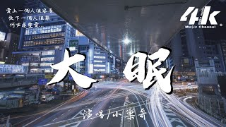 抖音 小乐哥 - 大眠 [高音質|完整動態歌詞Lyrics]♫《都快忘了怎樣戀一個愛,我被虛度了的青春也許還能活過來》Xiǎo lè gē - dà mián