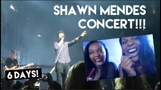 FRONT ROW SEATS AT SHAWN MENDES CONCERT!!