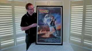New Movie Poster Snap Frame, Designed For Collectors Of Movie Posters 27x41