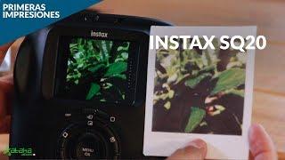 Fujifilm Instax SQ20, IMPRESIONES: toma fotos, edítalas e imprímelas desde la misma cámara