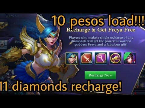 Get freya for only 10 pesos load - Codapay | Mobile Legends : Bang Bang