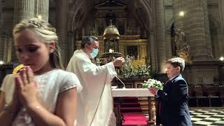 Vídeo resumen de las Primeras Comuniones en la Catedral