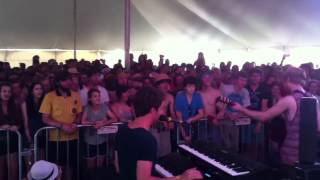 "Jukebox the Ghost ""Hold it In"" Bonnaroo 2012"