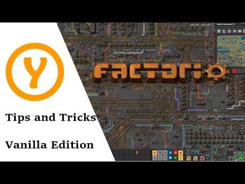 Factorio Top 10 Tips and Tricks