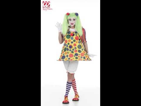 Lustiges Clownskostüm für Damen