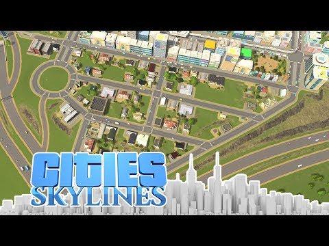 Die Mass Transit Vorstadt - Cities Skylines - DLC City 92