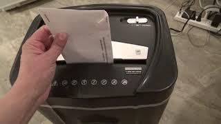 Aurora AU1210MA Micro Cut Paper Shredder Unbox and Review