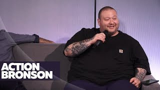 Ebro In The Morning - Action Bronson Tells The CRAZY Story Behind His Shaved Face
