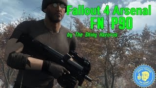 Fallout 4 Arsenal: FN P90 by The Shiny Haxorus (PC)