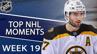 NHL Top Moments from Week 19 | NBC Sports
