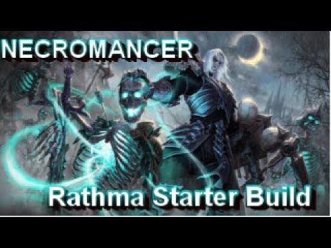 Necromancer Rathma Starter Build for Season 11 Diablo 3 Reaper of Souls