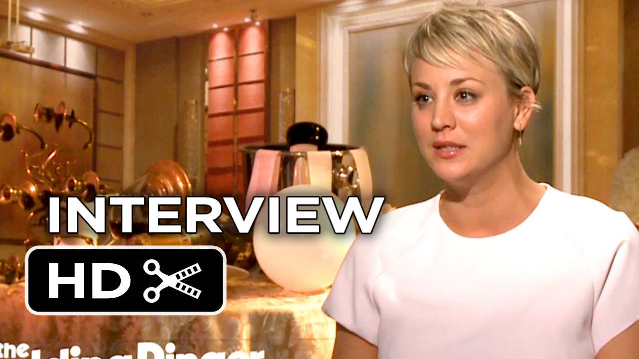 The Wedding Ringer Interview – Kaley Cuoco-Sweeting (2015) – Kevin Hart, Josh Gad Movie HD