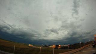 preview picture of video '2011/08/14 evening squall line with shelfcloud - GoPro HD timelapse'