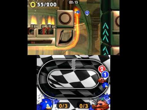 Видео № 1 из игры Sonic Boom: Fire & Ice [3DS]