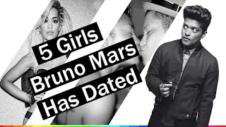 5 Girls Bruno Mars has Dated | 2009-2017 | Who is the best ?