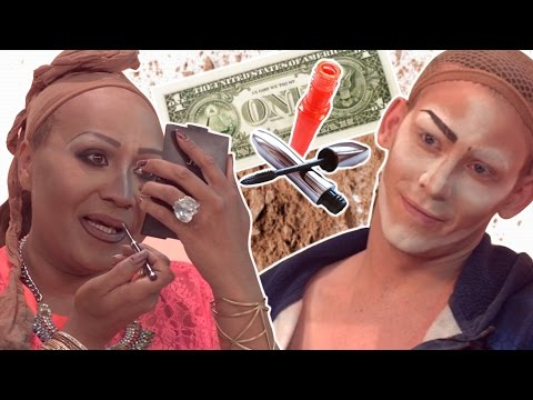 Drag Queens Try The Cheap Makeup Challenge