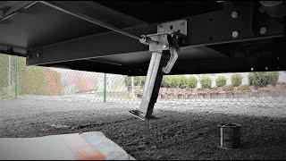 Wohnmobil Kurbelstützen montieren