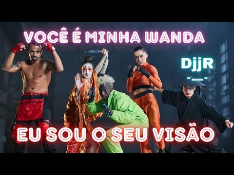 Wanda e Viso - wandavision Brega Funk Paredo
