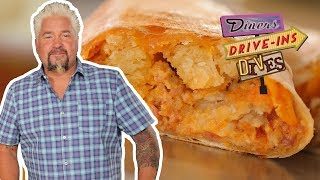 Biscuits And Gravy BURRITO From #DDD With Guy Fieri | Food Network