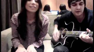 """christina perri sings """"be my baby"""" to celebrate ONE MILLION FACEBOOK FOLLOWERS!"""