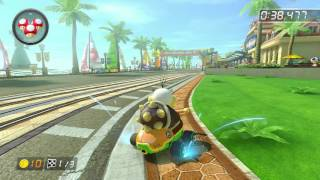 Toad Harbor - 1:55.242 - Fλ★ Wade (Mario Kart 8 World Record)