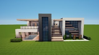 Einfache Moderne Villa Minecraft Tutorial Part German Most - Minecraft xbox 360 hauser bauen