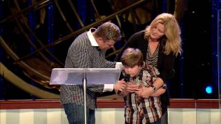 Connor Johnson Quotes Healing Scriptures At Lakewood Church