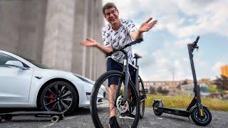 Tesla der Stadt: E-Bike vs. E-Scooter vs. E-Board!