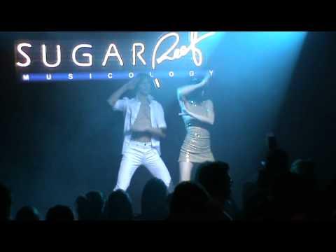 Francesco Mariottini e Martina Nadalini - discoteca Sugar Reef