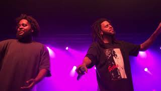 10 - Lit - Bas & J. Cole (Over Time: Dreamville All-Stars - Live Charlotte, NC - 2/17/19)