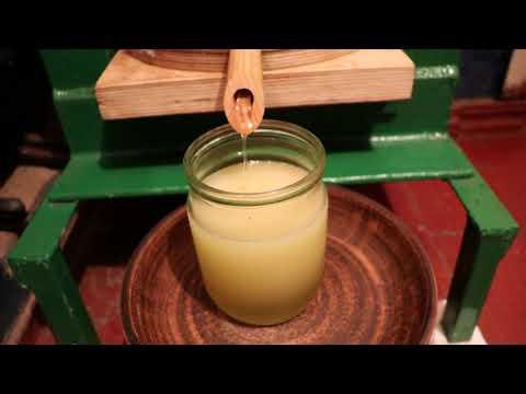 Гидравлический маслопресс холодного отжима на 30 тон. Делаем масло сами в домашних условиях.