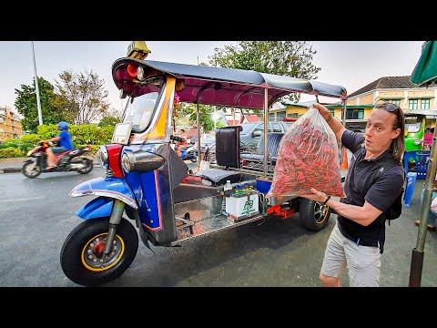 Прогулки по Бангкоку. Уличная еда. Китайский рынок.