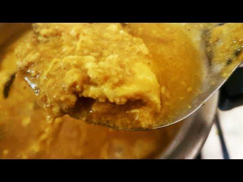 Beaten Eggs Curry | Making Beaten Eggs Curry in Left over coconut Saalan_Aaleen Khan Recipes