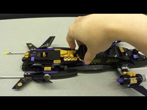 Vidéo LEGO Space Police 5984 : La limousine spatiale