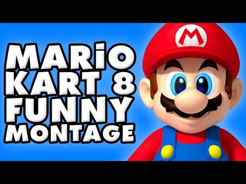 Mario Kart 8 Funny Montage!