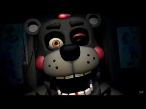 Freddy Fazbear's Pizzeria Simulator lefty JUMPSCARE (fnaf 6