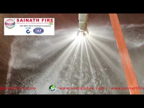 Medium Velocity Water Spray Nozzle