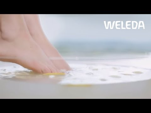 Weleda Tutorial: Foot Care