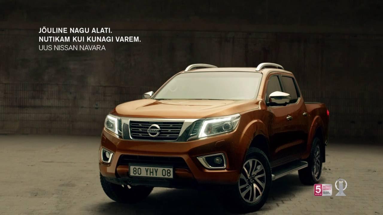 Võida 1000€ kinkekaart- mine proovisõidule uue Nissan Navaraga
