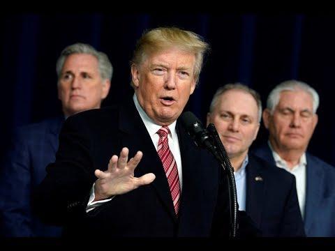Trump holds press conference at Camp David