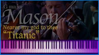 (Newage ver.) 내 주를 가까이 (Nearer my god to thee) (Gmaj) - L.Mason (accompaniment) | 피아노튼