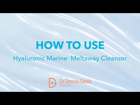 Come usare lo Hyaluronic Marine Meltaway Cleanser!