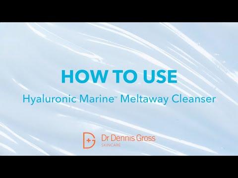 Jak używać Hyaluronic Marine Meltaway Cleanser!