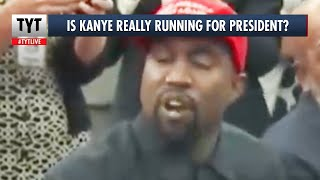 Kanye West Says He's Running for President! Is it True? thumbnail