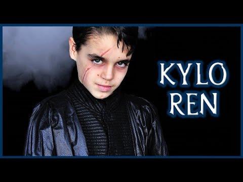 Tutorial Maquillaje Kylo Ren de Star Wars | Silvia Quiros