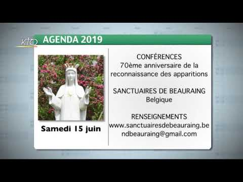 Agenda du 10 juin 2019