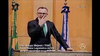 Deputado Majeski: prefiro ser mal-educado do que ser fingido e mentiroso