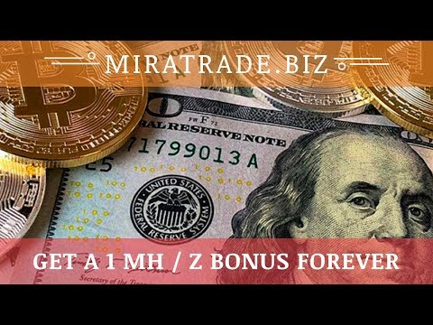 MiraTrade.biz отзывы 2019, обзор, Mining Cryptocurrency, Free 1 Mhz bonus forever